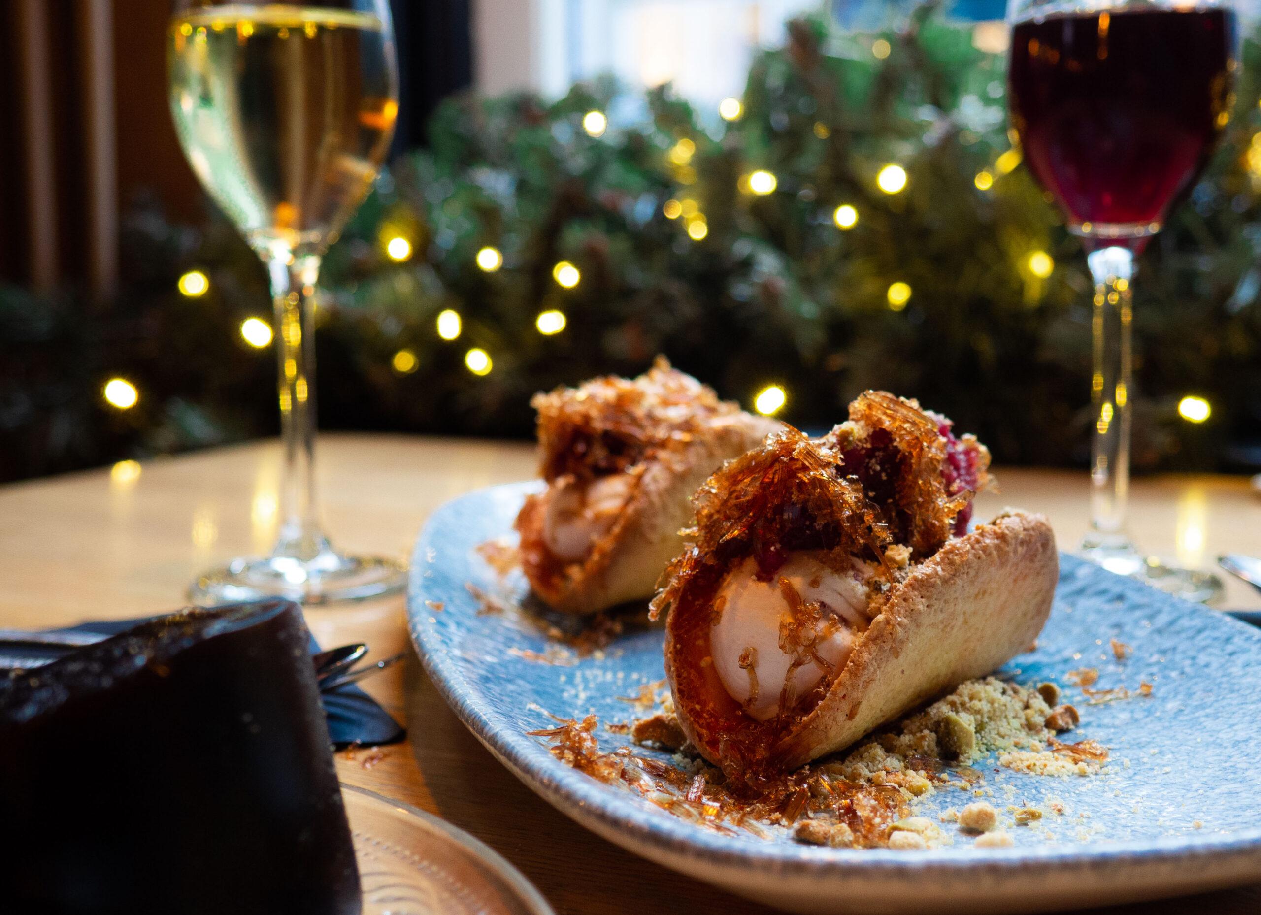 WIN: taco stoofpeer met een glas dessertwijn voor 2  bij Lokaal 1650 (afgelopen)